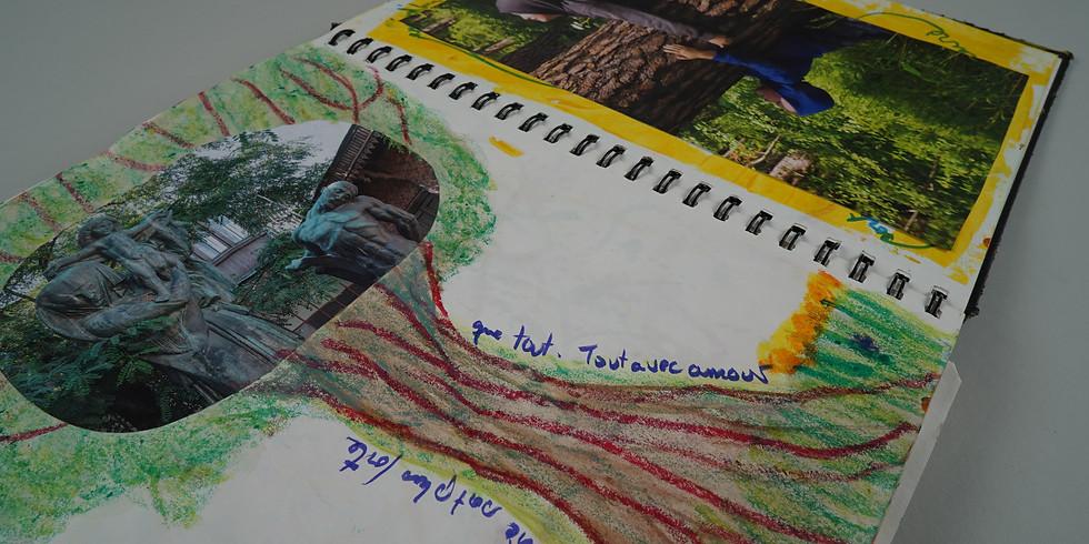 Atelier du Journal créatif à 4 mains:  L'arbre de vie