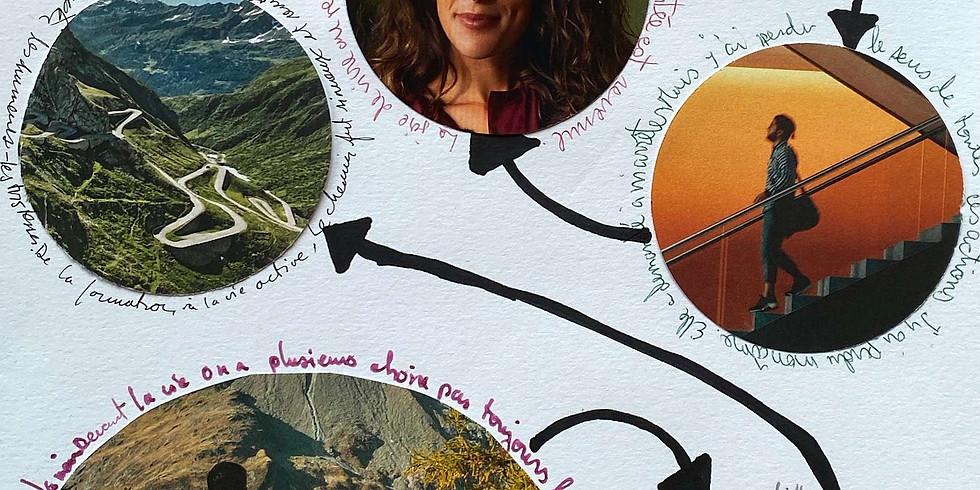 En ligne: Femme en mouvement