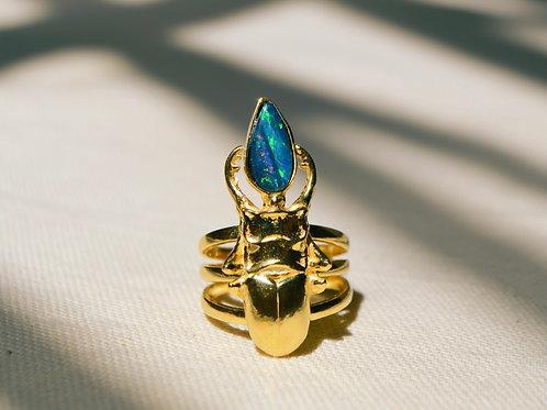 Anel escaravelho super nova
