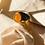 Thumbnail: Anel de dedinho Opala de Fogo