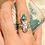 Thumbnail: Anel Escaravelho esmeralda Mint