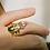 Thumbnail: Anel escaravelho Rose