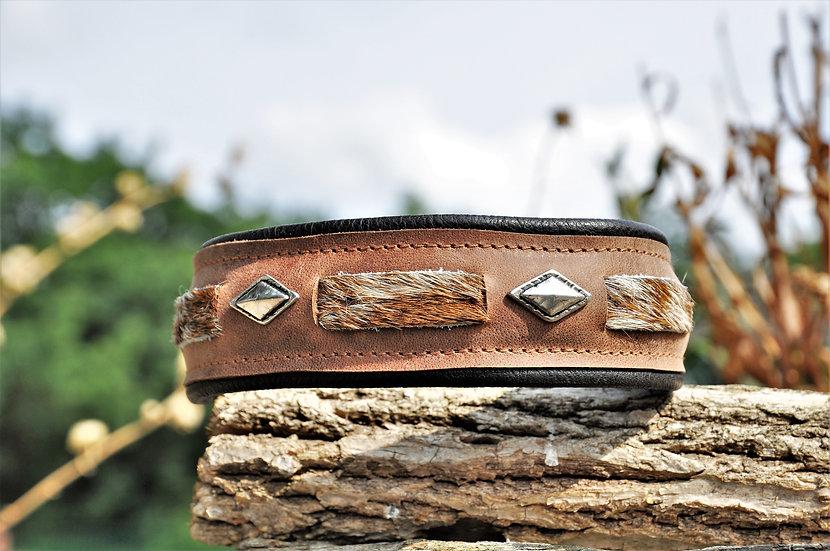 Fellhalsband, Fellhalsbänder, Indianer Halsbänder, Indianerhalsband