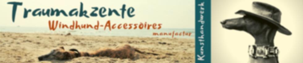 Windhundghalsbänder, Galgohalsbänder, Greyhoundhasbänder, Traumakzene