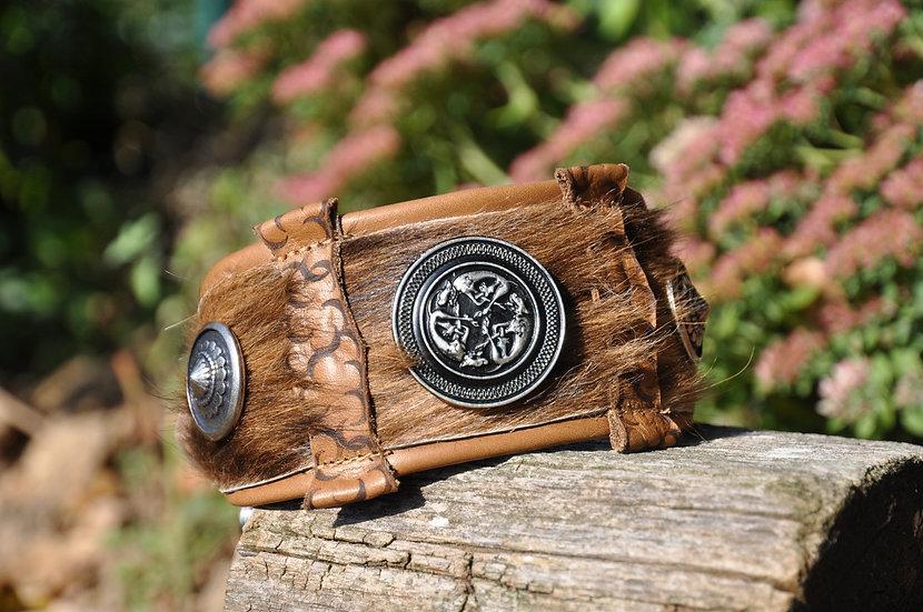 Windhundhalsband mit keltischem Windhundmotiv