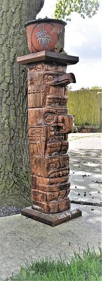 Dekosäule, Holzsäule, Totem