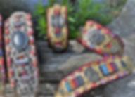 Windhundhalsbänder, Whippethalsband, Windhundhalsband, Martingale Halsband, Indianer Halsband