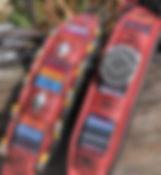 Windhundhalsband, Indianer Halsband, Indianerhalsbänder