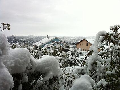 מצפה חרשים בחורף