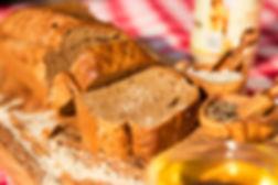 לחם ללא קמח מחמאות אגוזים ושקדים