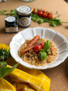 Chilly Date Risotto