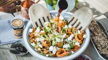 Spiced date pumpkin salad