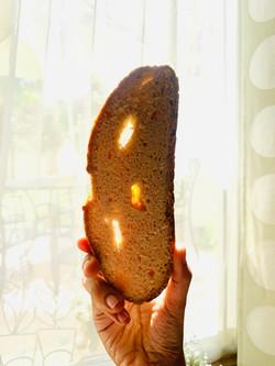 Sourdough Boulé Slice