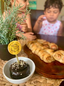 Chilly Date Spread Salmon Palmiers