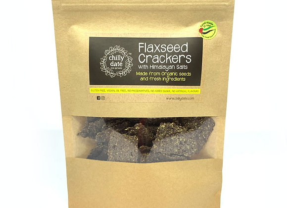 Flaxseed Crackers with Himalayan Salts