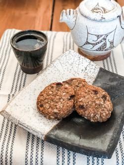 Tahini & Date Cookies