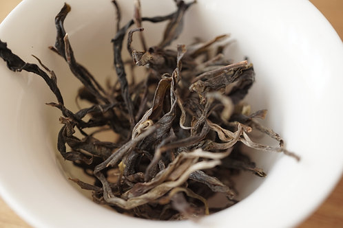 晒青緑茶(景邁山)'20年 初摘み 25g