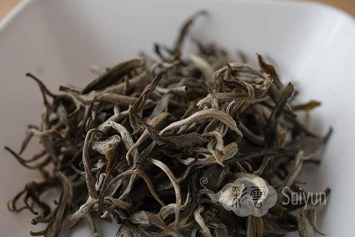 晒青緑茶(景邁) '19年春 一芯一葉ファースト(生態) 20g