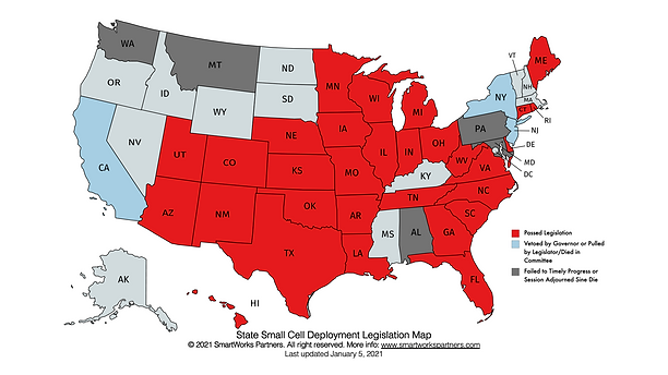 State Small Cell Deployment Legislation