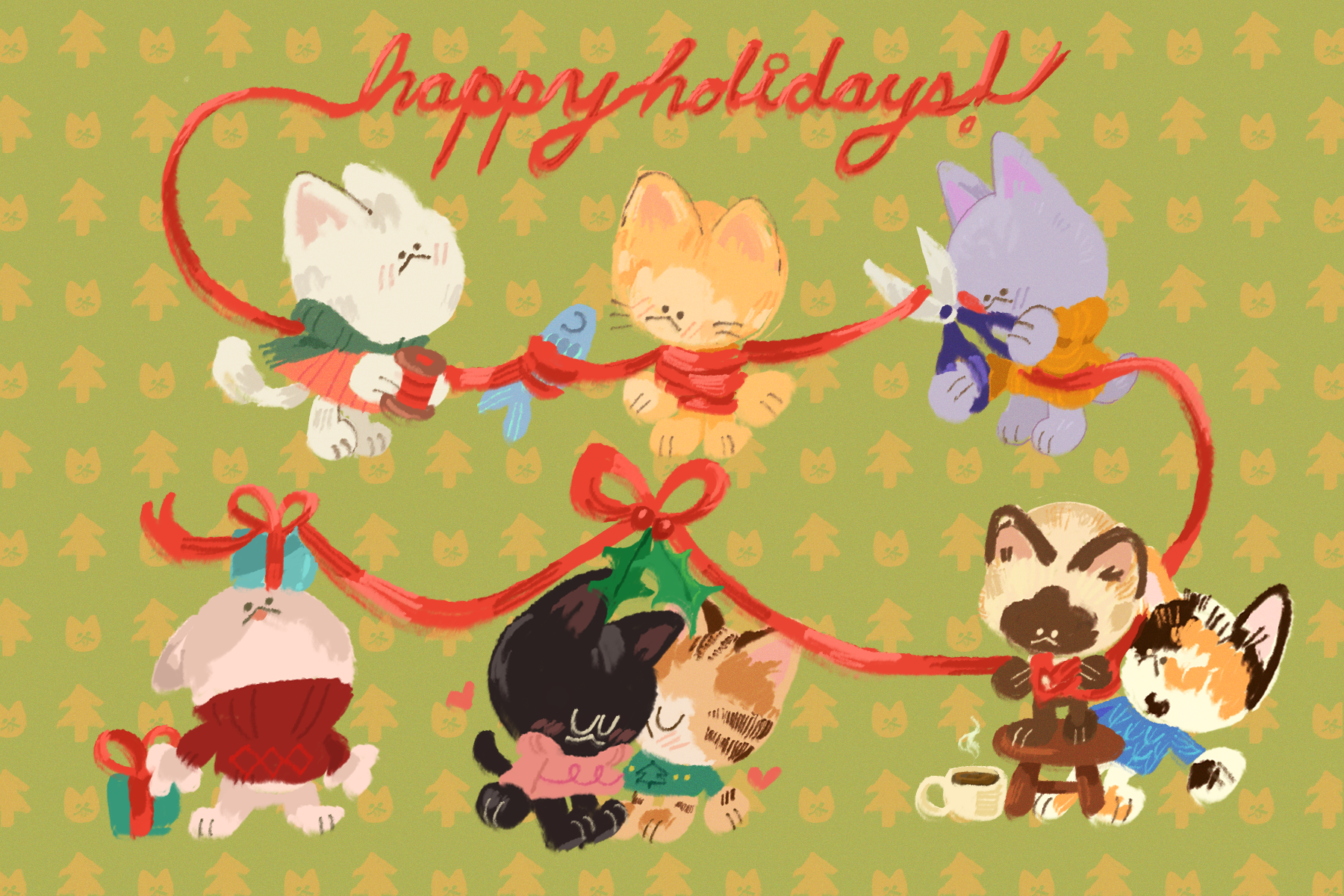 holiday postcard 2018