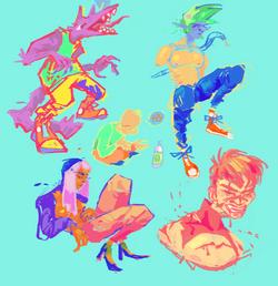 more doodles part 2