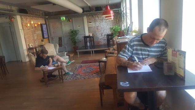 Schrijfwerkplaats