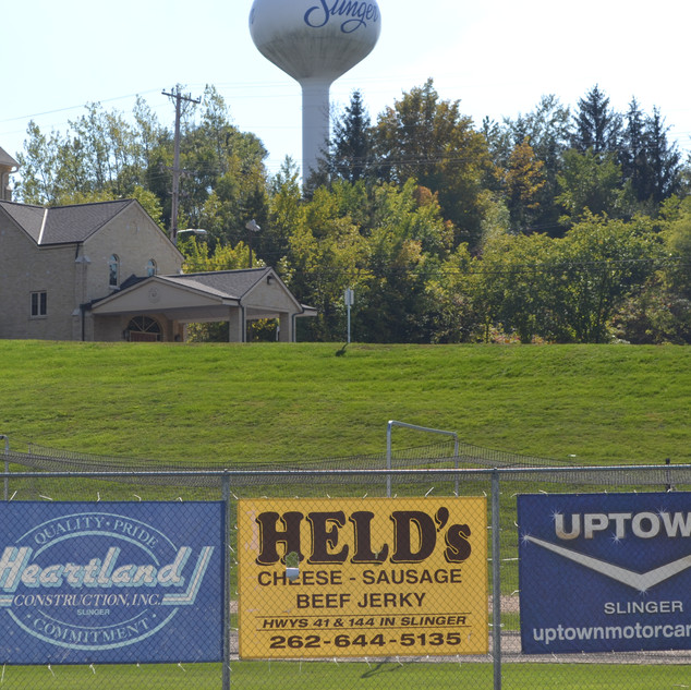 Banners and Water Tower (1).JPG