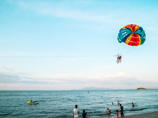The magical, flying world of parasailing