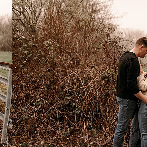 Adventure couple session/cold winter day