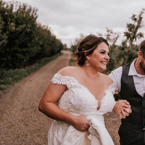 Orchard wedding in Eastern Oregon // Tara + Vinnie