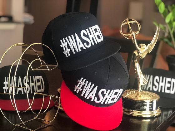 #WASHED Snapback Hat