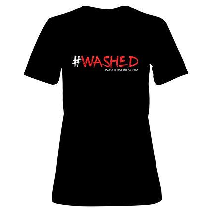 #WASHED WOMEN'S T-SHIRT