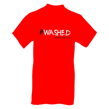 #WASHED MEN'S T-SHIRT