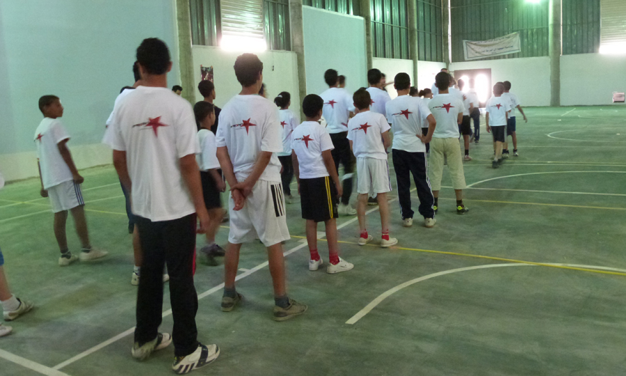 premiers entrainements frontball