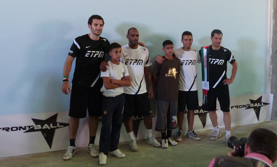 Inauguration des murs de Frontball