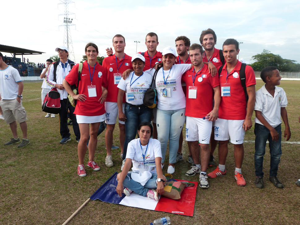 La délégation française de Frontball