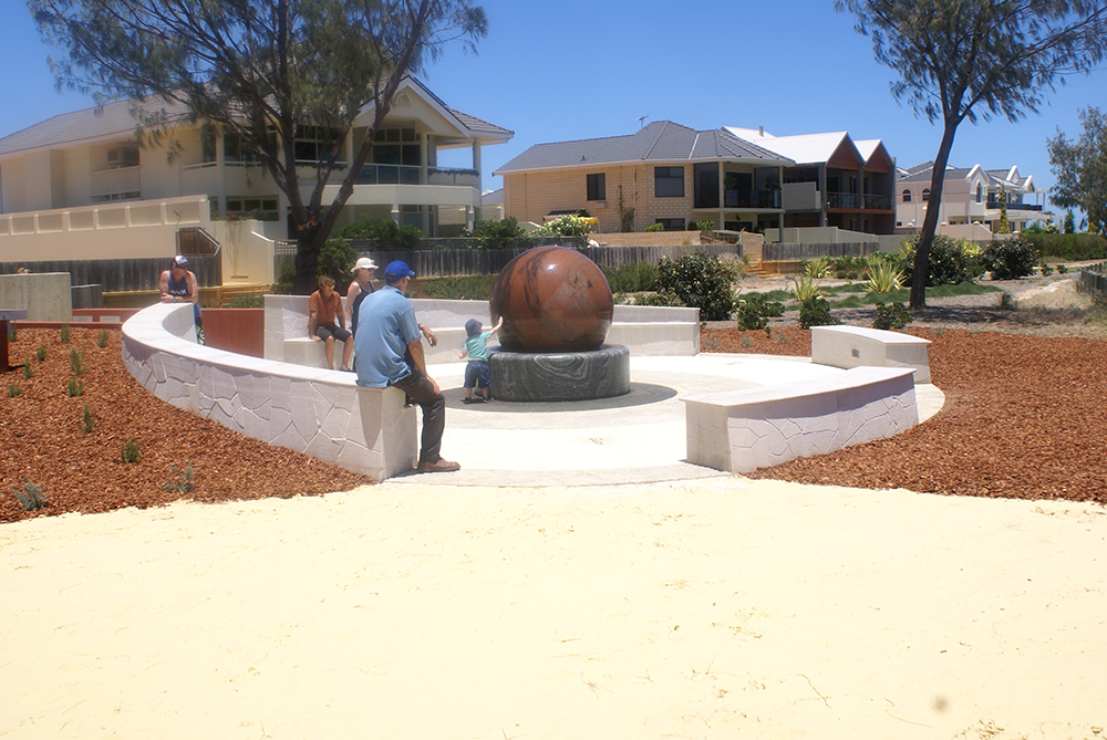 Donor Awareness Fountain, Geraldton WA