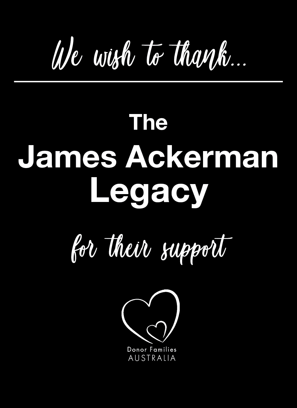 we wish to thank The James Ackerman Lega