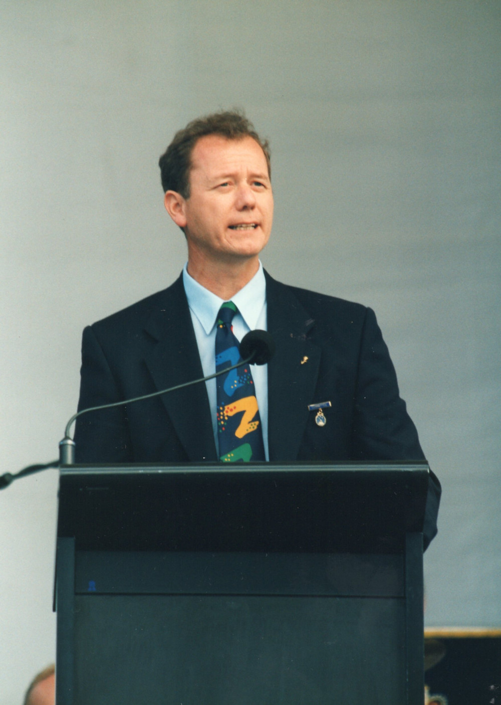 Graham Harrison speaking