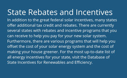 State Rebates and Incentives