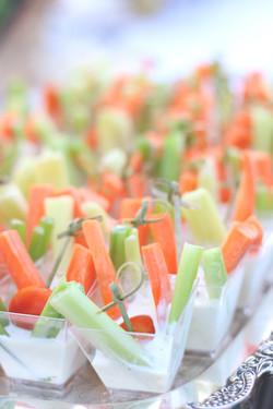 Individual Vegetable Crudites