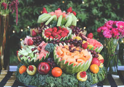 Fresh Fruit Cascade