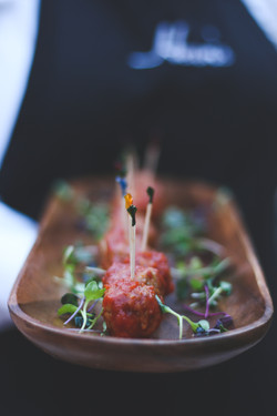 BBQ Glazed Meatballs