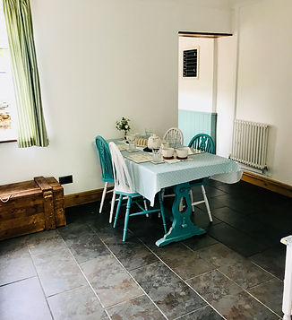Dining Room Holiday Cottage Dog Friendly