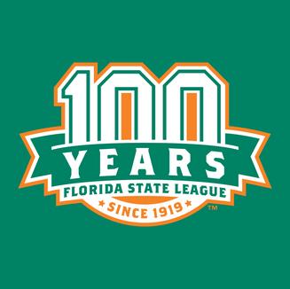 Florida State League 100 Year Anniversary Logo
