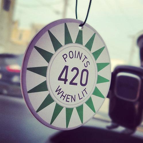 Pin Freshener 420 When Lit