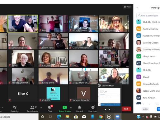 You've heard of VE Day ... now we've got VV Day (Virtual Vitality!)