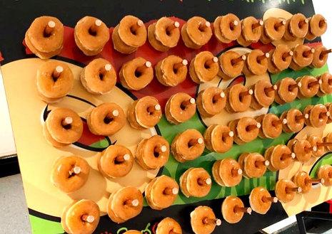 Wedding Donut Wall hire