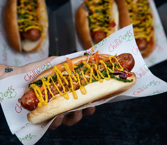 Chilli Dogs Gourmet Hot Dog