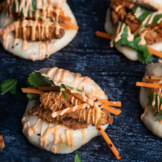 Buttermilk Chicken Bao Buns